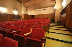 En el cine viejo. Imágenes de archivo libres de regalías