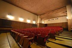 En el cine viejo. Imagen de archivo libre de regalías