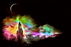 En el claro de luna
