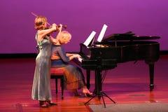 En el concierto Imagenes de archivo