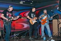 En el concierto de rock Imagenes de archivo