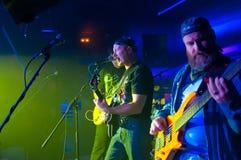 En el concierto de rock Imagen de archivo