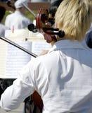 En el concierto del aire abierto Imagenes de archivo