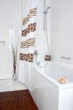 En el cuarto de baño Fotografía de archivo