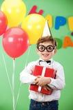 En el cumpleaños Fotos de archivo
