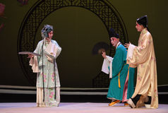 """En el  del oeste de Chamber†del """"the de la ópera del templo-Kunqu de Pujiu del encuentro fotografía de archivo"""