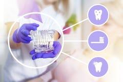 En el dentista Fotos de archivo libres de regalías