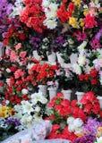 En el departamento de flor Fotografía de archivo