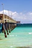En el embarcadero en la Florida Imágenes de archivo libres de regalías