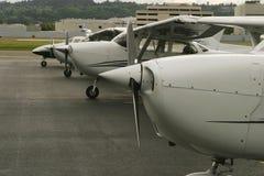 En el en linea de vuelo Imagenes de archivo