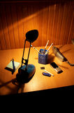 En el escritorio Imágenes de archivo libres de regalías