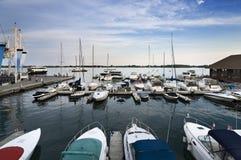 En el Harbourfront Foto de archivo libre de regalías