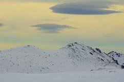 En el invierno Foto de archivo libre de regalías