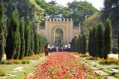 En el jardín de Darya Daulat Fotografía de archivo libre de regalías