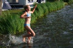 En el lago Fotografía de archivo libre de regalías