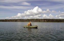 en el lago Imágenes de archivo libres de regalías