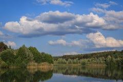 En el lago Baggersee Imagen de archivo libre de regalías