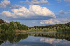 En el lago Baggersee Imagen de archivo