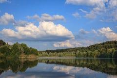 En el lago Baggersee Imágenes de archivo libres de regalías