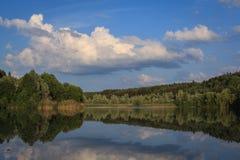 En el lago Baggersee Fotos de archivo libres de regalías