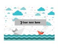 En el mar Imágenes de archivo libres de regalías