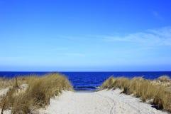 En el mar Báltico Fotos de archivo libres de regalías