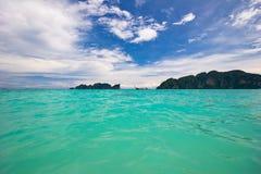 En el mar tropical. Imágenes de archivo libres de regalías