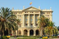 En el Mirador de Colom - Barcelona Fotografía de archivo libre de regalías
