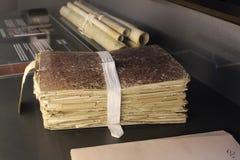 En el museo del monasterio de Pedralbes en Barcelona foto de archivo libre de regalías