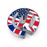 EN el nacional - Estados Unidos y Reino Unido Fotografía de archivo