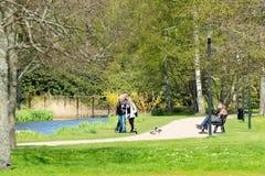 En el parque Fotos de archivo