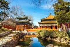 En el parque de Beihai en Pekín Fotografía de archivo