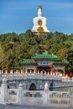 En el parque de Beihai en Pekín Foto de archivo
