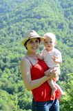 En el parque natural Imagen de archivo libre de regalías
