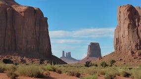 En el parque tribal del valle del monumento Foto de archivo libre de regalías