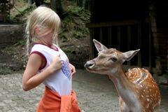 En el parque zoológico imagen de archivo