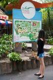 En el parque zoológico de Saigon Imágenes de archivo libres de regalías
