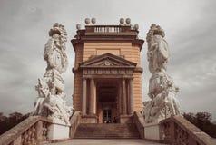 En el patio trasero de los reyes en Viena imagen de archivo