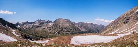 En el pico Foto de archivo
