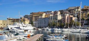 En el puerto de Gaeta Fotografía de archivo