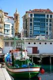 En el puerto de San Sebastian Fotografía de archivo libre de regalías