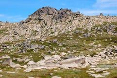 En el puesto de observación 2 del Mt Kosciuszko - Thredbo Fotos de archivo