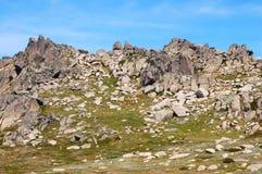 En el puesto de observación 4 del Mt Kosciuszko - Thredbo Fotografía de archivo