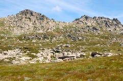 En el puesto de observación 1 del Mt Kosciuszko - Thredbo Imagenes de archivo