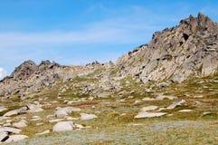 En el puesto de observación 3 del Mt Kosciuszko - Thredbo Imagen de archivo