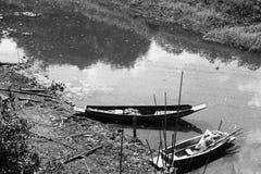 En el río Imágenes de archivo libres de regalías