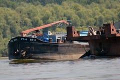 En el río Danubio 2 Foto de archivo libre de regalías