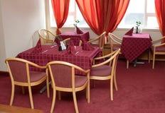 En el restaurante Imagen de archivo
