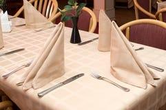En el restaurante Foto de archivo libre de regalías