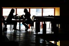 En el restaurante Imagenes de archivo